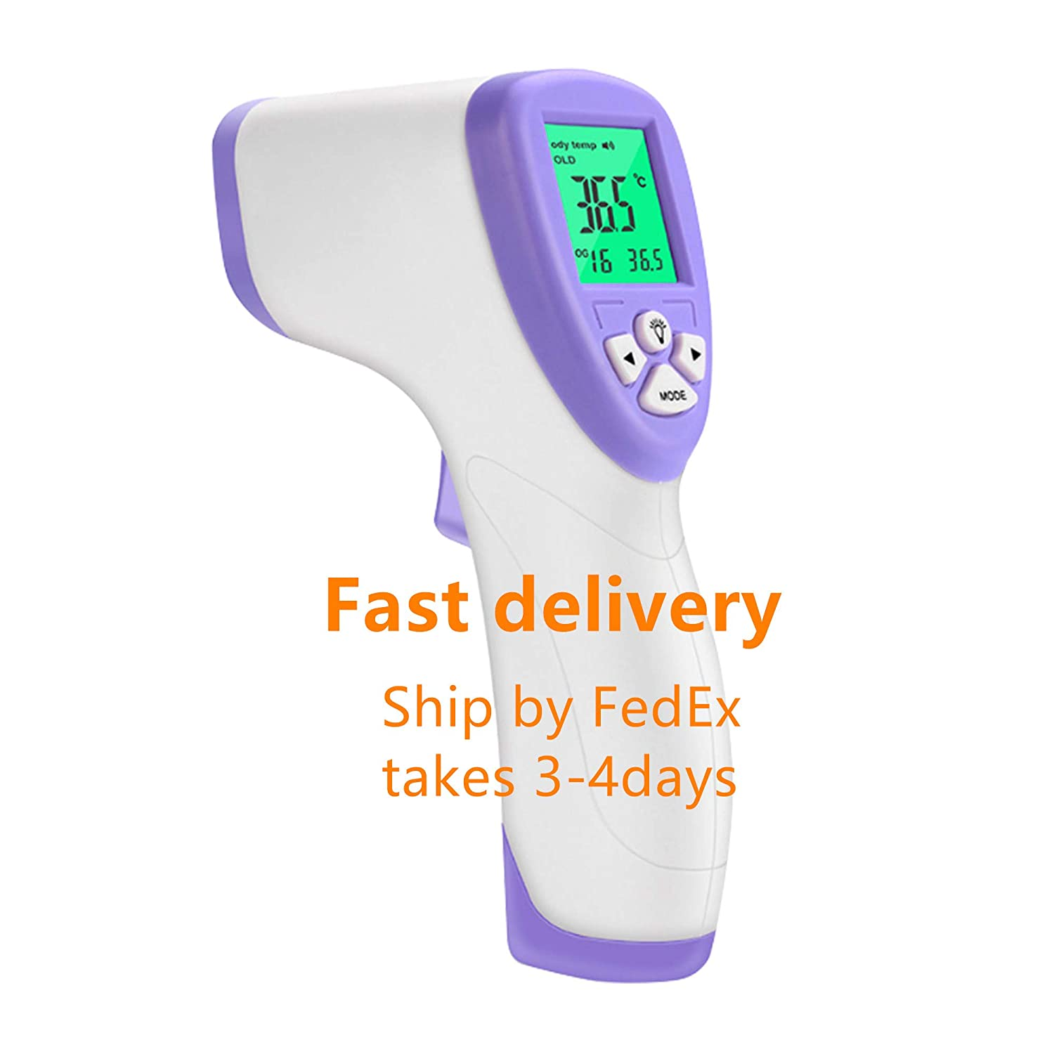 Adults and Surface of Objects Non-Contact Digital Infrared Forehead Thermometer with 3 in 1 Digital Medical Infrared Thermometer for Baby