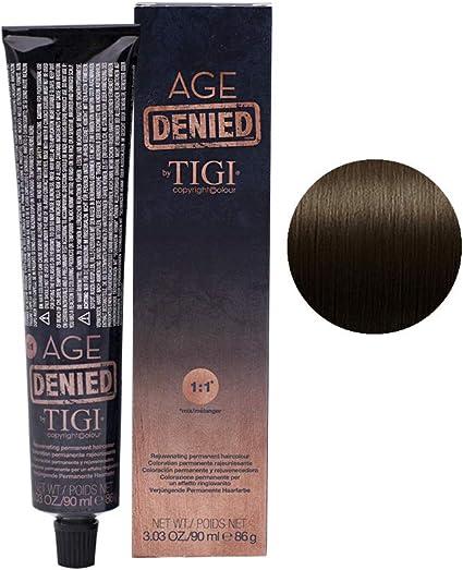 Tigi Age Nied - Tinte de coloración, color marrón oscuro, 90 ...