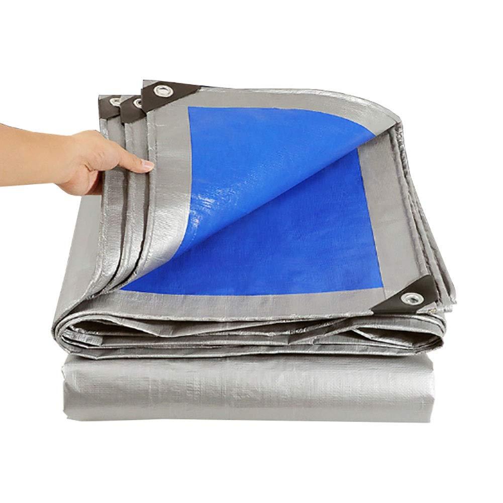 couverture de tente de camping renforc/ée en poly imperm/éable YXX-B/âches Couverture de piscine robuste avec oeillets 160 G//M/² taille : 3mx5m