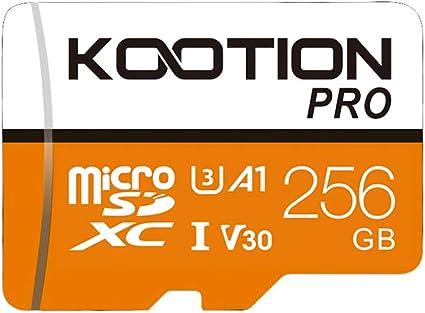 Kootion 256gb Micro Sd Karte 256gb U3 Ultra Tf Karte Computer Zubehör