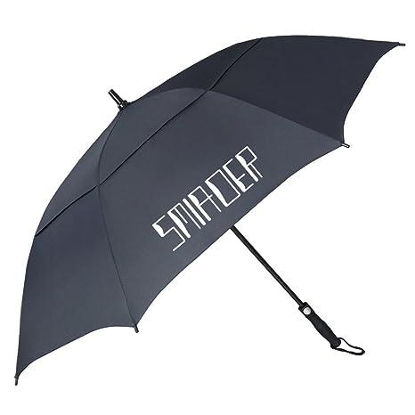 2f62bd9cf382 SMIAOER Windproof Rain Umbrella, 62 inch Extra Large Golf Umbrellas,  Waterproof Oversize Stick Umbrella [Double Canopy Vented] [Automatic Open]  [Sun ...