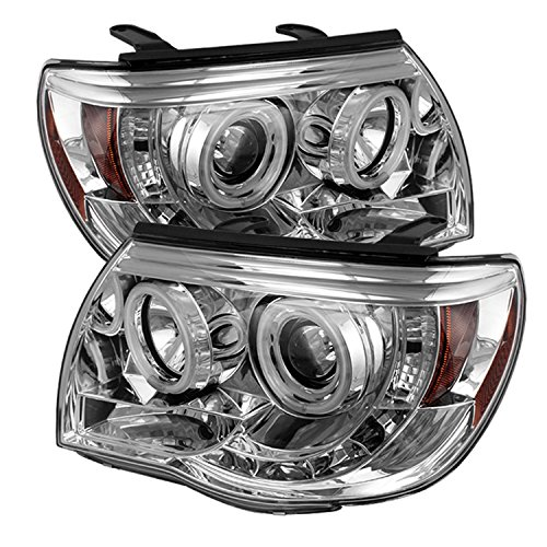 Spyder Auto Toyota Tacoma Chrome CCFL LED Projector Headlight