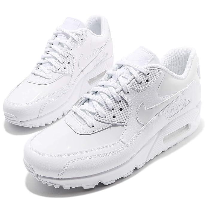 Nike Wmns Air MAX 90 Lea, Zapatillas de Trail Running para Mujer