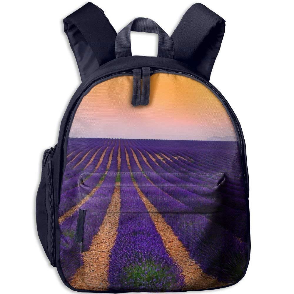 Backpack, School School School Backpack for Boys Girls Cute Fashion Mini Toddler Canvas Backpack, Lavender B07LFYR54D Daypacks Einfach aabc4a