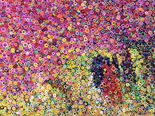 Cherry Trees in the Spring, Bubblism Paintings by Contemporary Nicaraguan artist Marcio Diaz ()