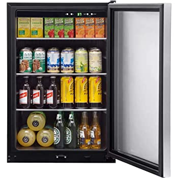 FRIGIDAIRE FFBC4622QS 138 Cans Beverage Cooler/ Refrigerator