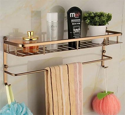 Amgend Los Accesorios De Baño De Diseño Más Nuevos, Estante Multifuncional, Aluminio, Estante