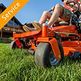 Riding Lawn Mower Assembly - No Crate or Gas