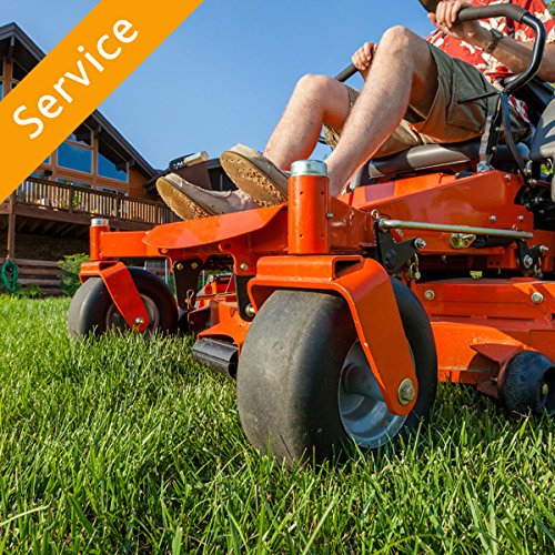 Riding Lawn Mower Assembly – Uncrate and Gas
