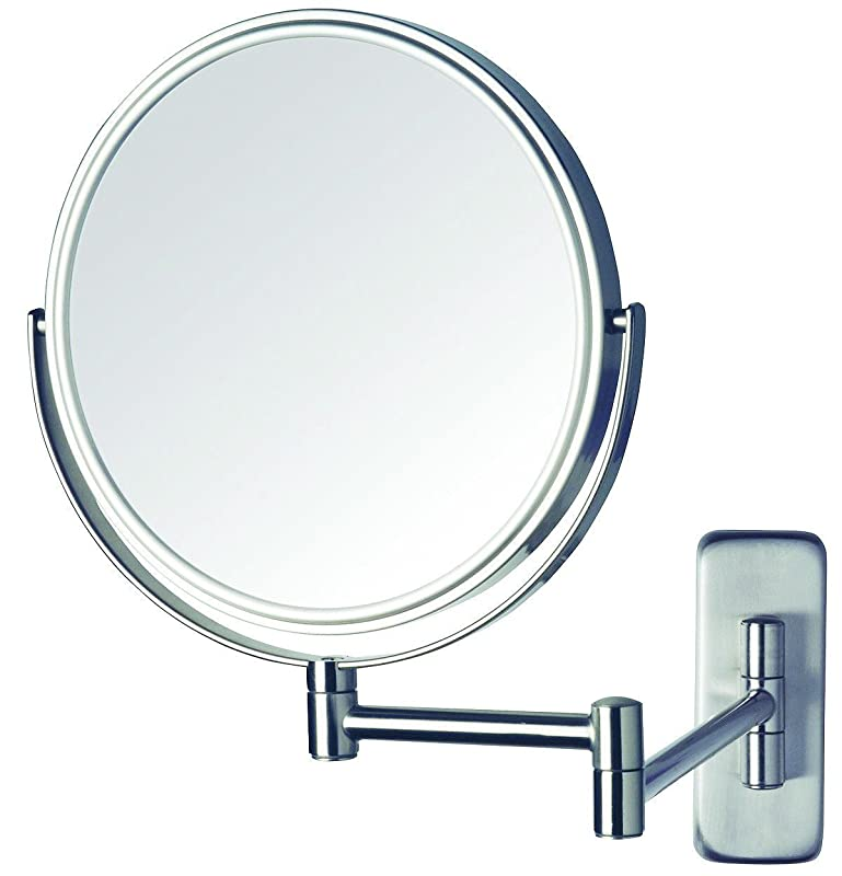 Jerdon JP7506N Non-Lighted Wall Mount Makeup Mirror Reviews Summary