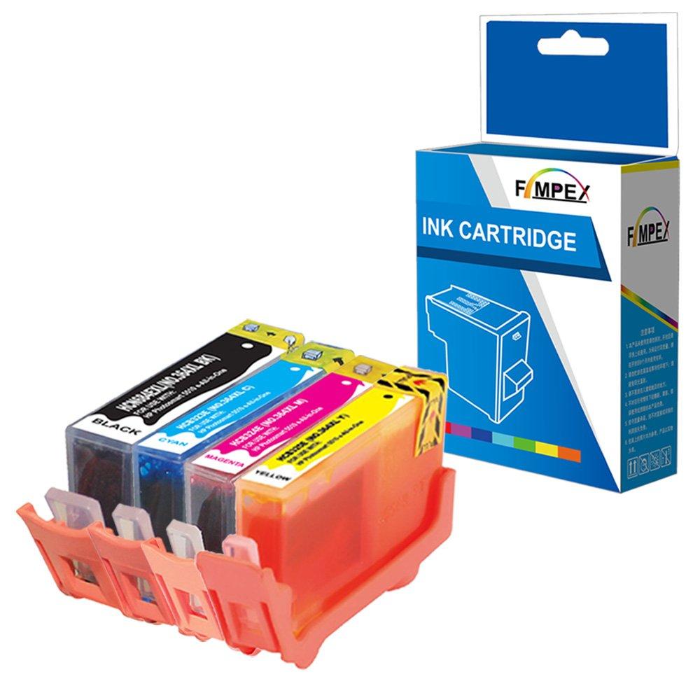 Fimpex Compatible Tinta Cartucho Reemplazo Para HP Deskjet 3070A ...