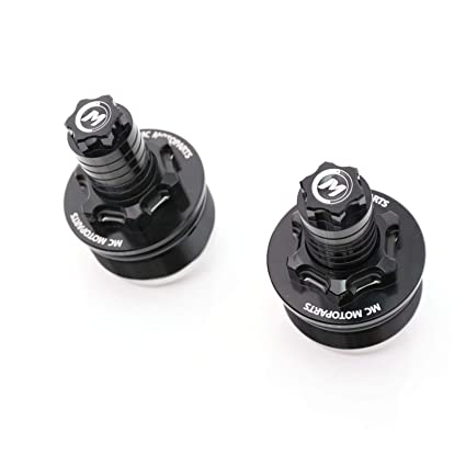 MCMOTOPARTS Black CNC Fork Preload Adjusters For Kawasaki ER4F Ninja 400R 11-14 Vulcan S 650 15-17 Z650 Ninja 650R ABS 17-18