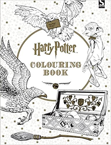 Harry Potter Colouring Book 1 Amazoncouk Warner Brothers 9781783705481 Books