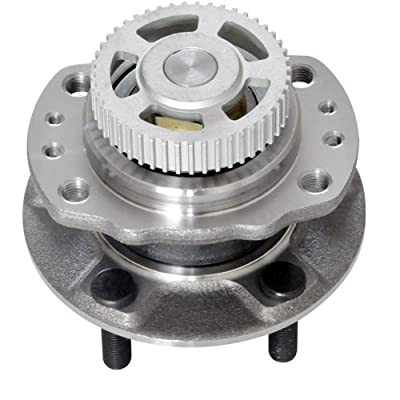 DRIVESTAR 512156 FWD Rear Wheel Hub & Bearing Assembly Passenger/Driver side for Chrysler Town & Country 1996 97 98 99 2000 Chrysler Grand Voyager 2000 Dodge Caravan 1996-2000(w/ABS 4 Lugs): Automotive