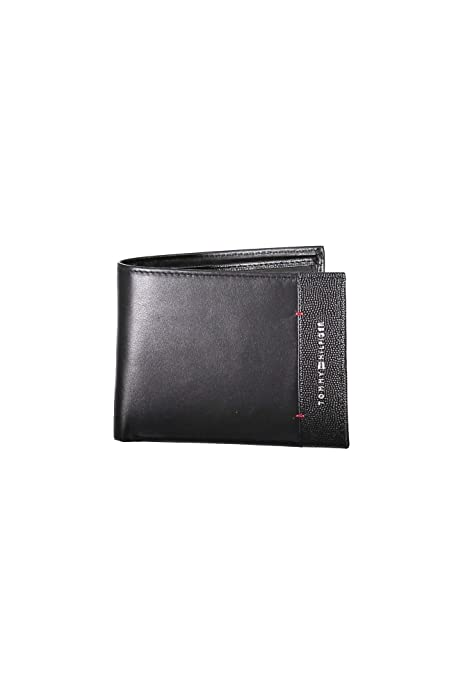 Tommy Hilfiger - Th Business Extra Cc And Coin, Carteras Hombre, Negro (Black