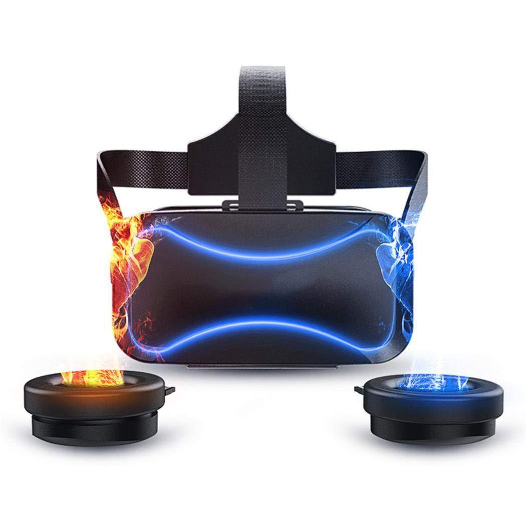 BommonVR Brille, 3D VR Brille Video Movie Game Brille Virtuelle Realität Headset Kompatibel mit iOS, Kompatibel mit 4.7~6 Zoll Smartphones