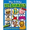 Deals on How to Draw 101 Animals Paperback