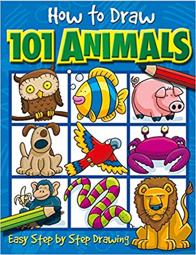 How to Draw 101 Animals – by Dan Green