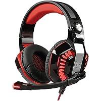 Rampage Rivia G40 Siyah/kırmızı USB 7.1 Titreşimli Oyuncu Mikrofonlu Kulaklık
