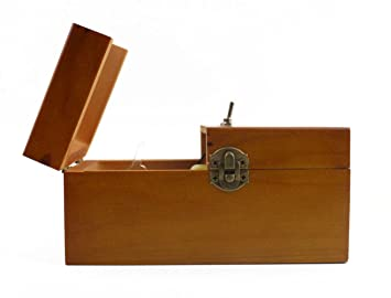Willcome Wooden Turns Itself Off Useless Box Leave Me Alone Box Perpetual Machine For Geek Gifts Or Desk Toys