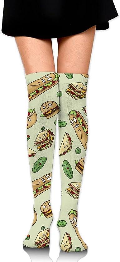 FREE SHIPPING Men/'s eating sandwich socks women/'s socks