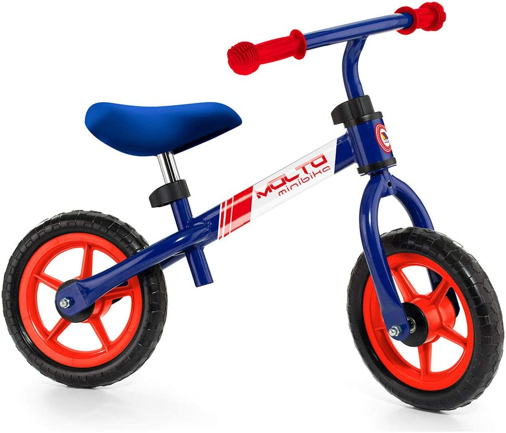 Bicicleta sin Pedales Infantil - Minibike Azul Molto: Amazon.es ...