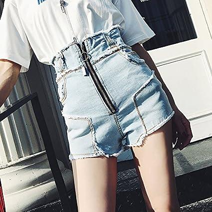 68d6de69fe YYJZJW Shorts de mujer Shorts de mujer Faldas cortas Pantalones cortos de  cintura alta Pantalones cortos