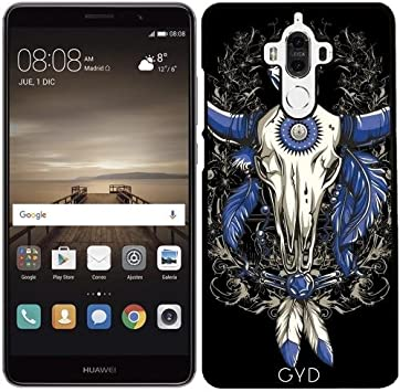 Funda para Huawei Mate 9 - Nativo Americano Blu Cráneo Del Toro by ...