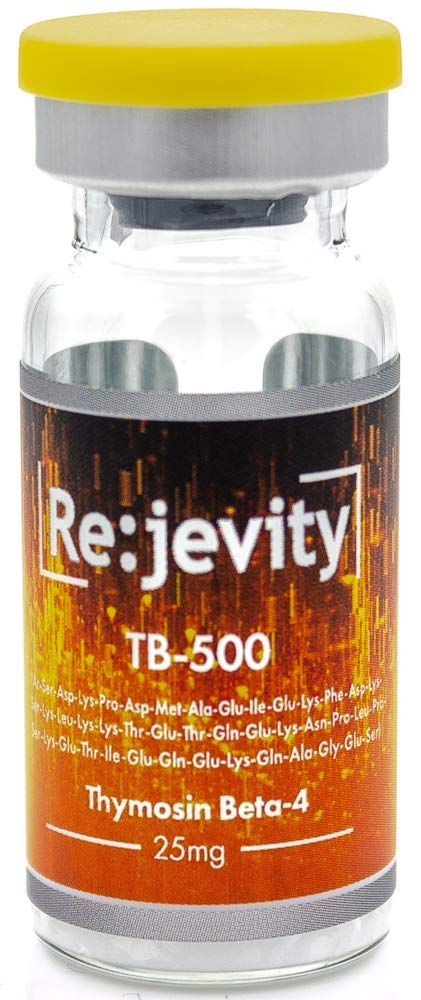Rejevity TB-500 25mg (Thymosin Beta-4) by GroupGanix