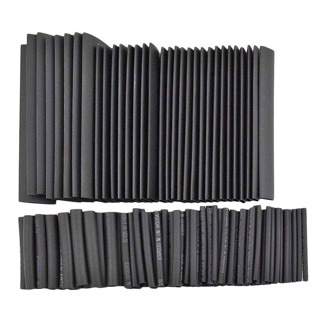 Swiftswan 127pcs Heat Shrink Tubing Tube Wire Insulation Sleeving Kit Car Electrical Shrinkable Cable Wrap Set Assorted Polyolefin