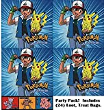 Pokemon party favor bags 24 count . Great for loot bags treat bags birthday parties