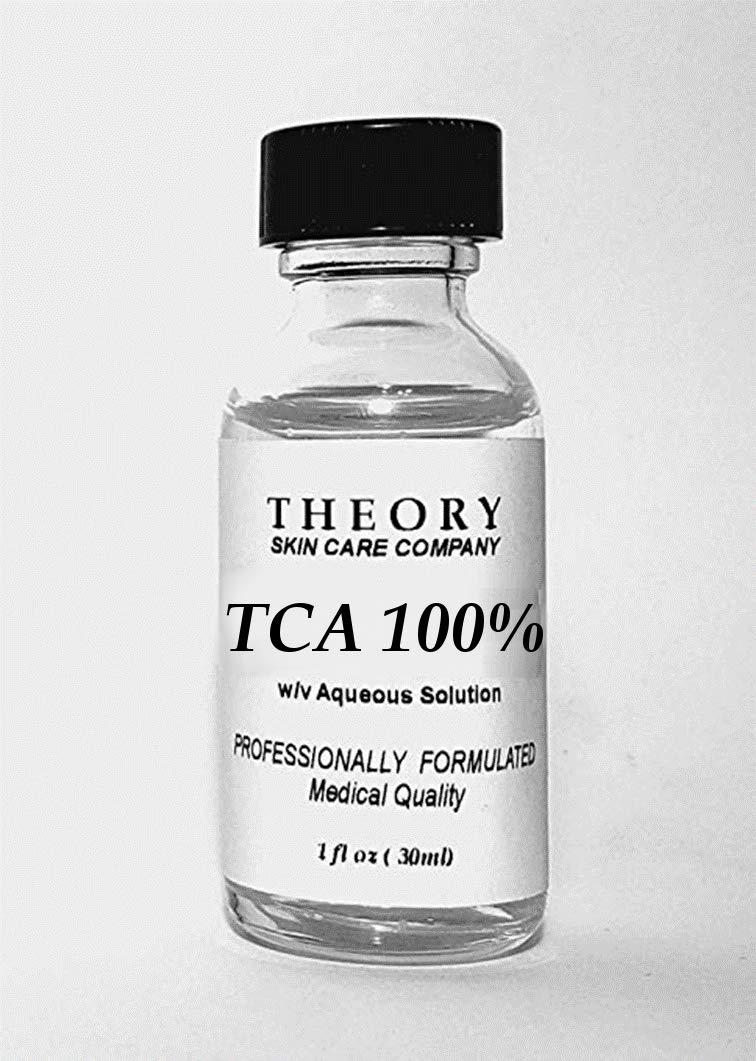 Trichloroacetic Acid 100% TCA Chemical Peel, 1 oz, Medical Grade, Wrinkles, Fine Lines, Freckles, Scars, Age spots