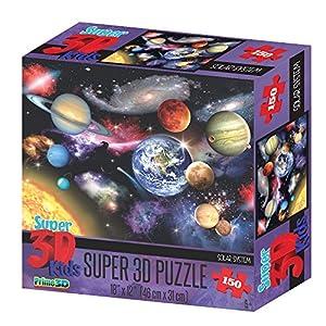 Howard Robinson Hr10807 Super 3d Solar System Puzzle Pezzi