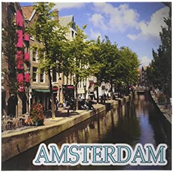 Amsterdam Famous City Fridge Magnet Collectable Design Holland Netherlands