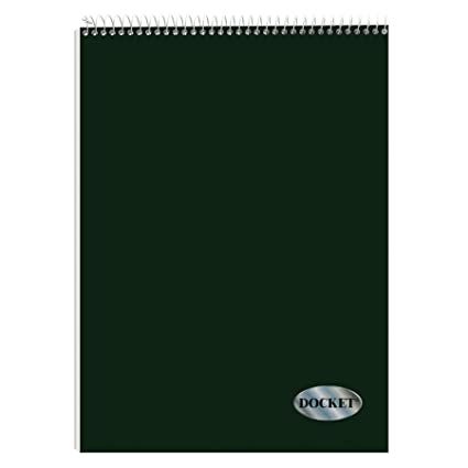 TOPS Docket Quadrille Pad, Wire Bound, 8 1/2 X 11