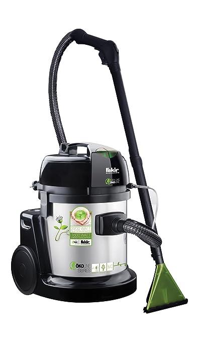 Fakir 9800 S Öko - Aspiradora con sistema de limpieza húmedo (1600 W), color gris y plateado: Amazon.es: Industria, empresas y ciencia