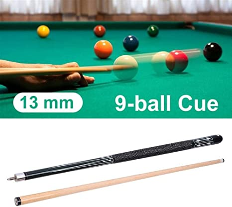 13mm Pool Cue Leather Hardwood Maple Bar de Billar Entretenimiento ...