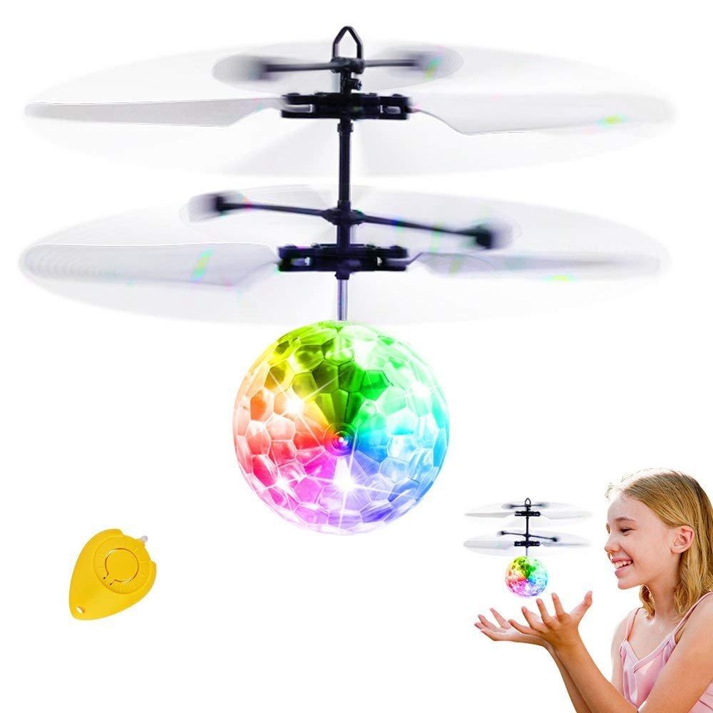 Bola voladora RC, IGOGO RC Flying Juguetes, Niños Música Flying Ball ...