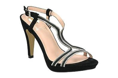 Destroy W331782 NOIR - Chaussures Sandale Femme