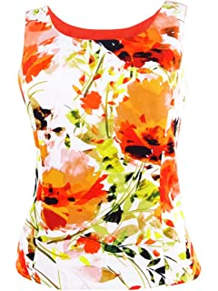 021ed371aa1 Kasper Womens Plus Matter Jersey Floral Print Pencil Skirt Orange ...