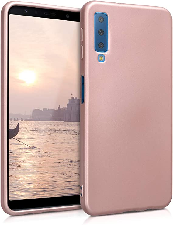 kwmobile Funda Compatible con Samsung Galaxy A7 (2018): Amazon.es ...