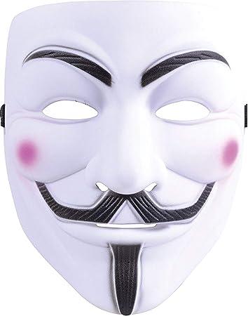 V for Vendetta - Máscara de adulto para disfraz de Halloween ...