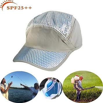 Shinsaky Gorra de enfriamiento, Gorra para el Sol, protección UV ...