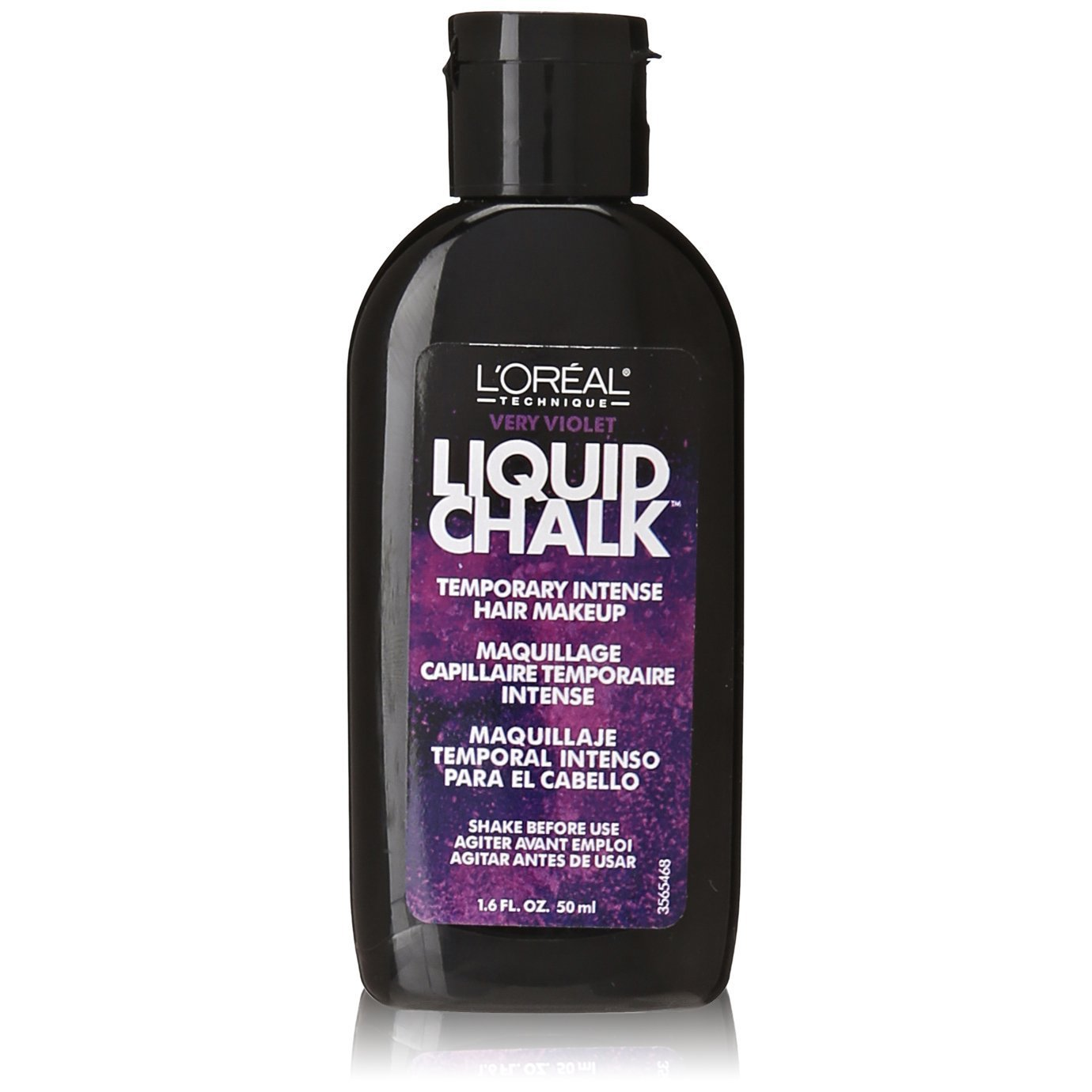 Loreal Liquid Chalk Hair Makeup - Very Violet 1.6 Ounce (47ml) (3 Pack) L' Oreal Paris
