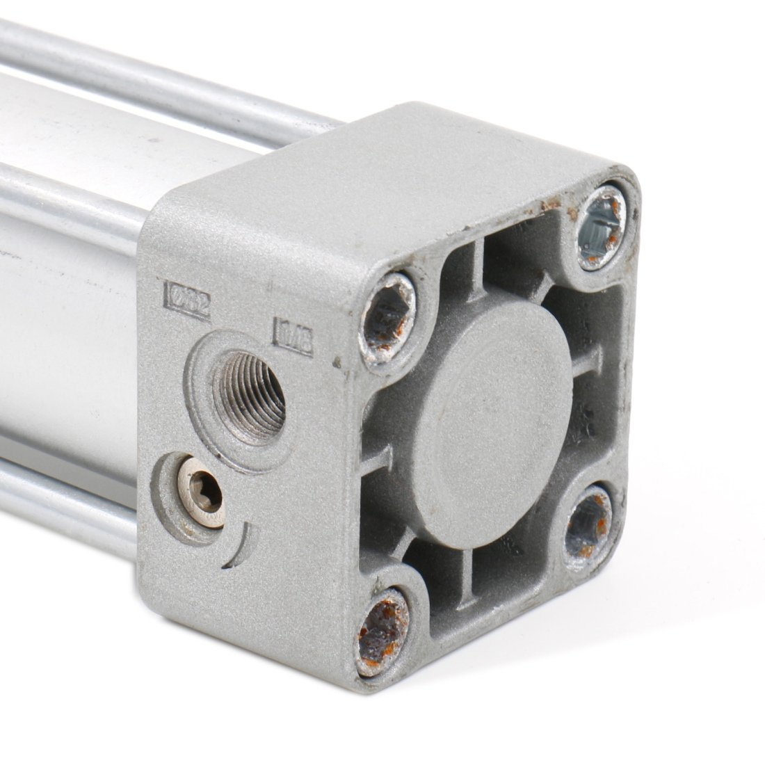 Screwed Piston Rod Dual Action 1 Mpa CHLED Bore: 1 1//4 inch Stroke: 6 inch Baomain Pneumatic Air Cylinder SC 32 x 150 PT 1//8