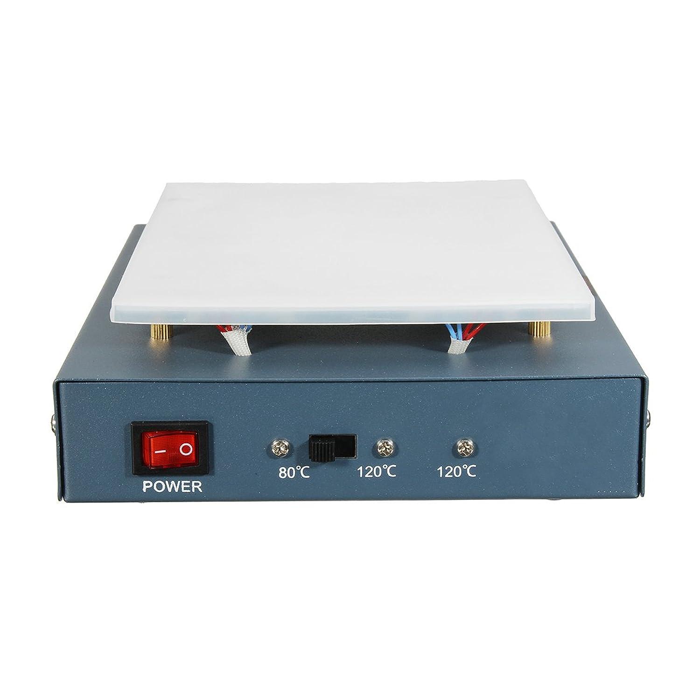 Beho-220VのLCDスクリーンセパレータガラスの取り外し 電話暖房プラットフォームプレート修理機械 B07B9WJ3WG