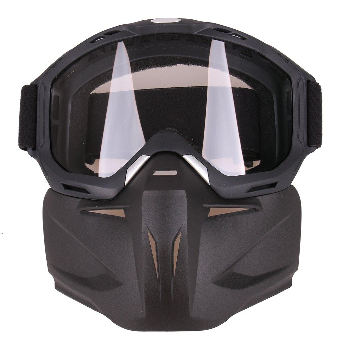 LoKauf Gesichtsmaske Schutzmaske Goggles Mask Masken-Gläser für Nerf CS
