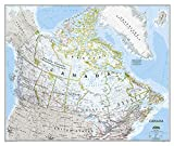 """Canada Wall Map (Classic Style, Tubed) 38"""" x 32"""""""