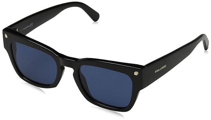 Dsquared2 DQ0299 Gafas de sol, Negro (Shiny Black/Blue ...