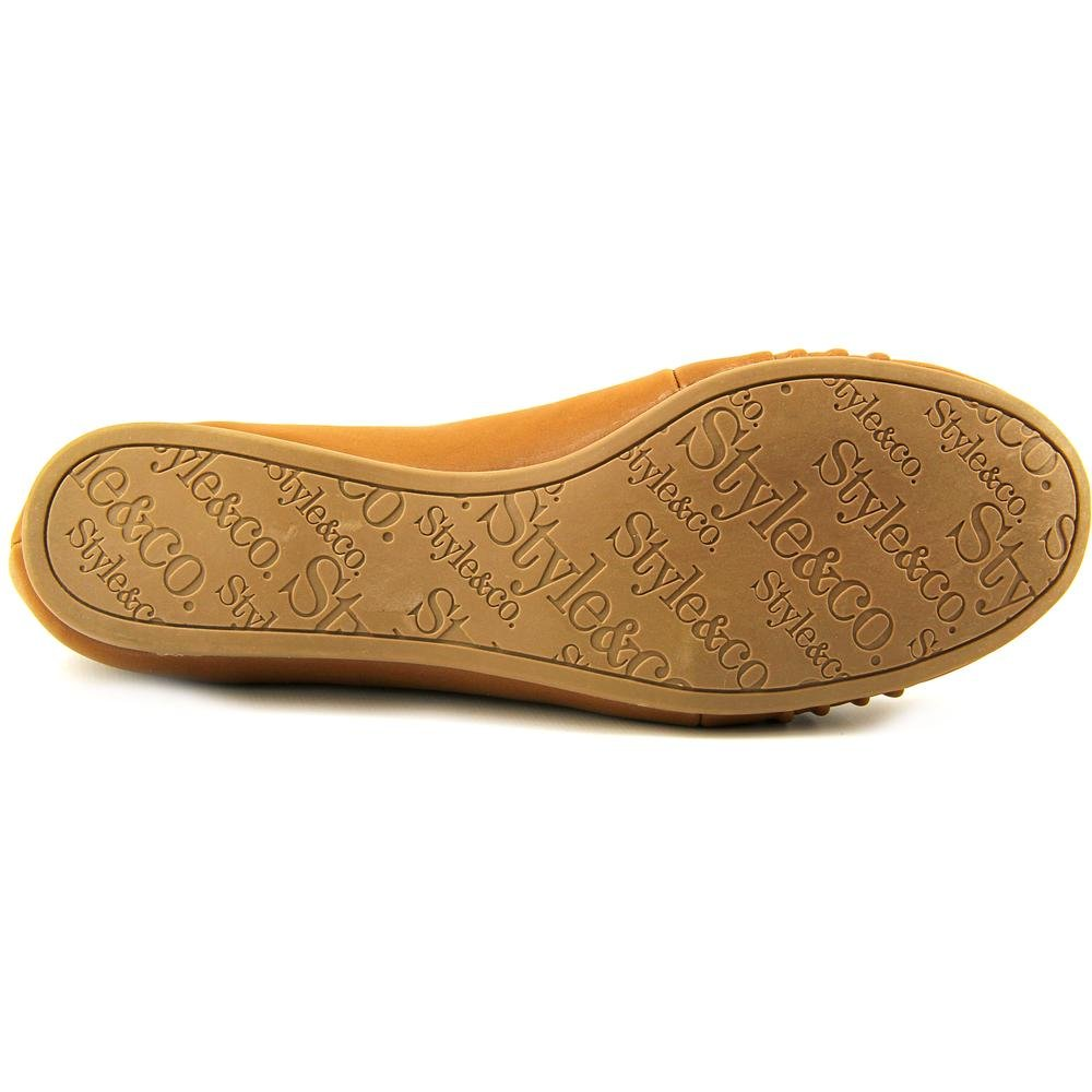 Style & Co. Women's Addia Round Toe Flats, Brown, Size 8.0